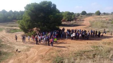 Jornada para dar a conocer la zona verde de 'La Mola' de Paterna (Raquel Andrés)