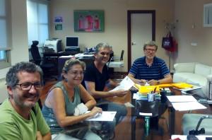 Jaume Fullana, Braulio, Carmen y Ramón