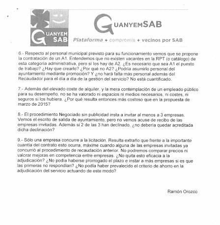 ESCRITO DUDAS CONTRATACION SOFTWARE RECAUDACION 20 ENERO 2016 pag 2