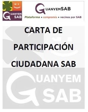 Portada Carta de Participación ciudadana e