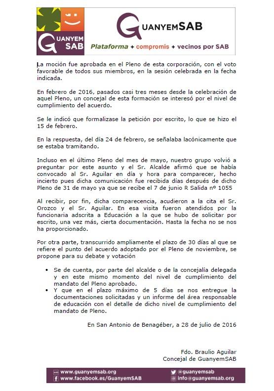 3.- MOCION ESTADO DE LAS SOLUCIONES ESCOLARES pag 2